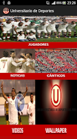 Screenshot of Universitario de Deportes APP