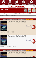 Screenshot of Cinemark Brazil