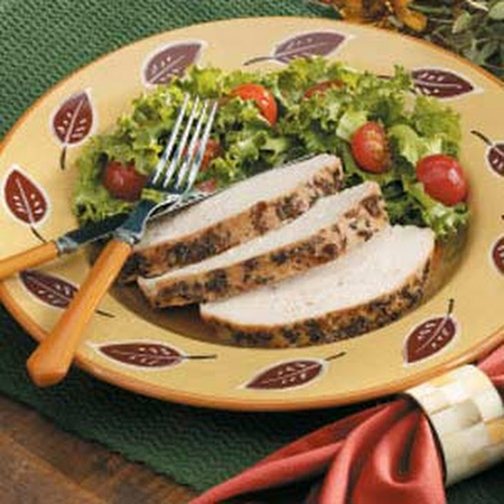 Herb-Rubbed Roasted Turkey Breast Recipe — Dishmaps