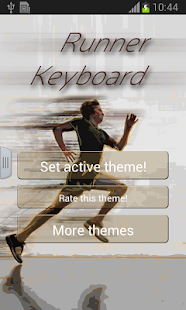 Runner Keyboard - screenshot