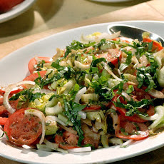 Tomato, Sweet Onion, and Celery Salad