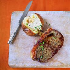 ... and asparagus sirloin steak with roasted potatoes and asparagus