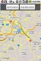 Screenshot of Open GeoSMSer