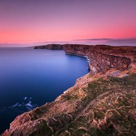 silence on the edge by Łukasz Rabczyński - Landscapes Sunsets & Sunrises