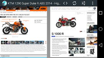 Screenshot of Atlas Web Browser