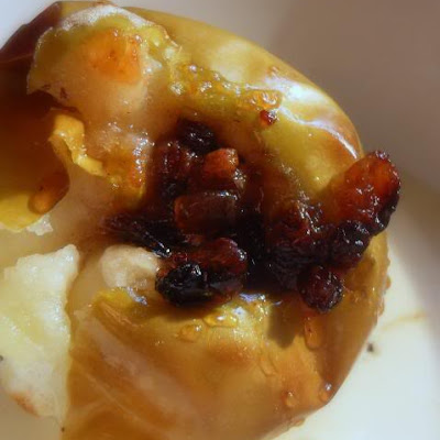 Eccles Cake Baked Apples