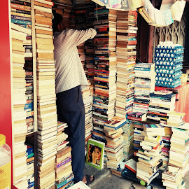 Room without books is like body without soul by Sebastrian Bala - Novices Only Street & Candid ( shop, books, knowledge, market, streets )