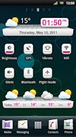 Screenshot of MLG Mellow Widget Theme