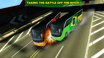 Screenshot of Soccer Team Bus Battle Brazil