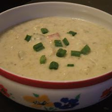 Broccoli, Leek, and Potato Soup