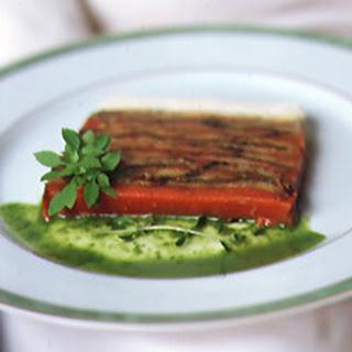 Eggplant And Roasted Red Pepper Terrine Recipes