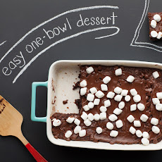 One Bowl Cocoa Brownies