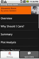 Screenshot of Giovanni's Room: Shmoop Guide