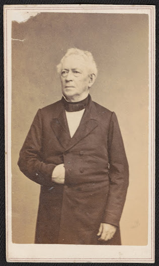 Edward Everett. Cabinet Card photograph by Warren's Photographic Studios, Boston [n.d.]