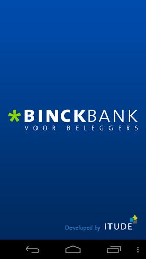 Binck beleggingsapplicatie