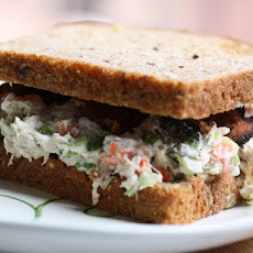 Crunchy Chicken Salad Sandwiches