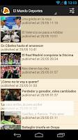 Screenshot of España Noticias