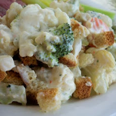 Cream Cheesy Vegetable Casserole