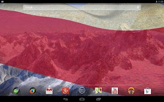 Screenshot of 3D Poland Flag Live Wallpaper