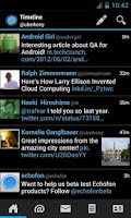 Screenshot of Echofon for Twitter