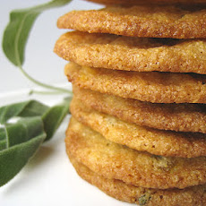 Apricot, Sage, and Cornmeal Cookies