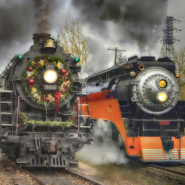 Motive Power by Nickel Plate Photographics - Transportation Trains