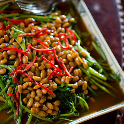Water Spinach And Fermented Soy Beans