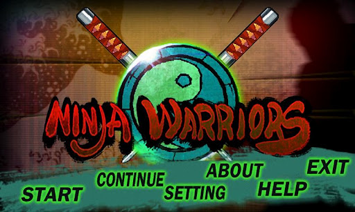 ninja-warriors for android screenshot