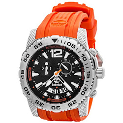 Timberland Hydroclimb Chronograph Watch - Rubber Strap (For Men)