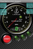 Screenshot of Lexus Speedo Dynomaster Layout