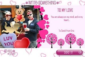 Screenshot of Build-A-Card: Cupid Edition