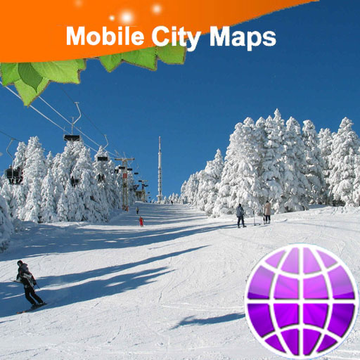 Whistler Ski Area Map LOGO-APP點子