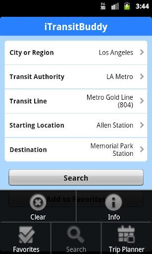iTransitBuddy LA Metro Lite