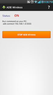 ADB Wireless - screenshot