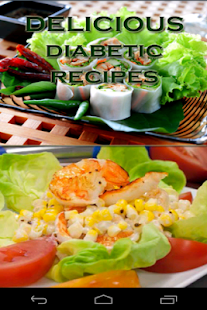 Delicious  Diabetic Recipes - screenshot