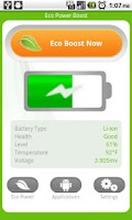 Screenshot of Android Eco Battery Saver FREE