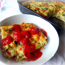 Cracker Lasagne