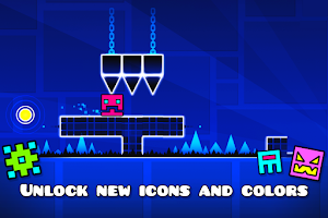 Screenshot of Geometry Dash