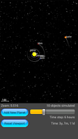 Screenshot of Motion Planet