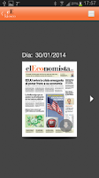 Screenshot of el Economista Kiosco