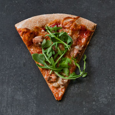 Spicy Turkey Sausage Pizza (The Power-Up Pie)
