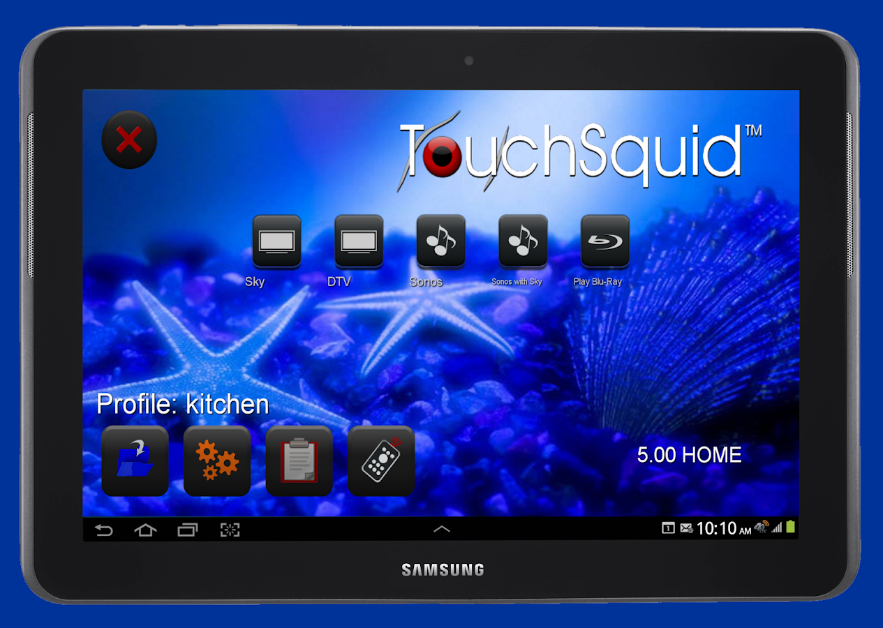 Touchsquid GR PRO Remote Screenshot 8