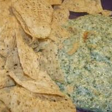 Baked Cream Cheese Spinach Dip