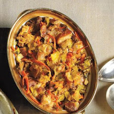 Stuffing With Sausage and Raisins