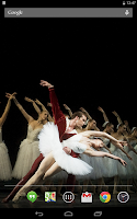 Screenshot of Ballet Live Wallpaper
