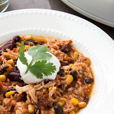 Skinny Taco Chicken Chili