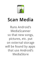 Screenshot of Scan Media