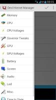 Screenshot of Devil Kernel Manager