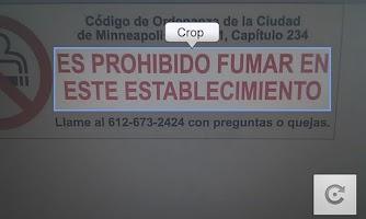 Screenshot of Camera Translator
