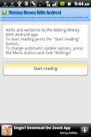 Screenshot of Making Money with Android Blog